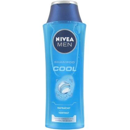3 x NIVEA Men Shampoo Cool für normales Haar - 3 x 250ml