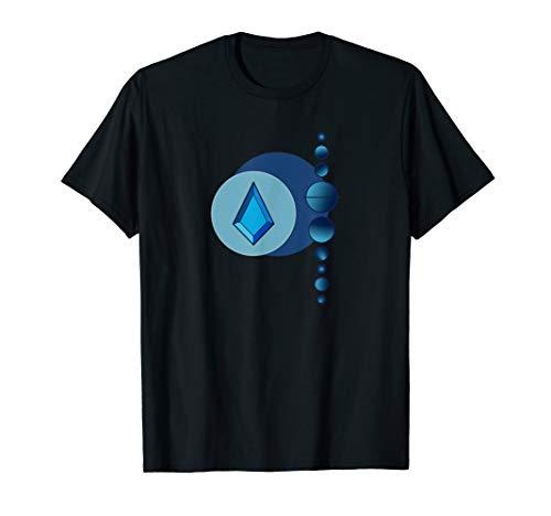 Blue Diamond Planet Colony - Schönes Universe Gem T-Shirt (Diamond Tshirt Blue)