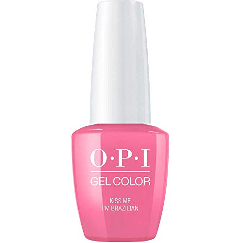OPI gelcolor Nagellack,kiss me i'm brazilian, 1er Pack (1 x 15 ml) - Kiss Me Nägel