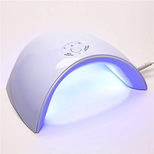 GUFS Secador de uñas Lámpara LED UV 9SD 36W Secador de uñas 12pcs Luz de uñas LED Clavos Geles Máquina de manicura con botón del temporizador Conector USB Herramientas de arte de uñas