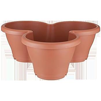 geli 3er s ulen pflanztopf 2 farbig kr uterschnecke blumentopf zum stapeln geli durchmesser. Black Bedroom Furniture Sets. Home Design Ideas