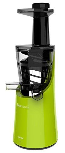 Jupiter 866200 Juicepresso Plus Entsafter Slow Juicer, grün