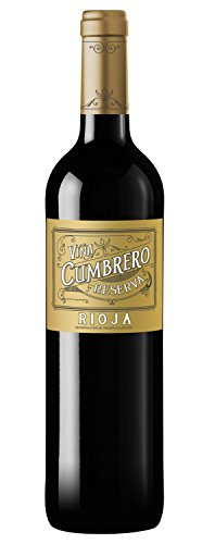 Vino Tinto Viña Cumbrero Reserva Denominación de Origen Calificada de Rioja