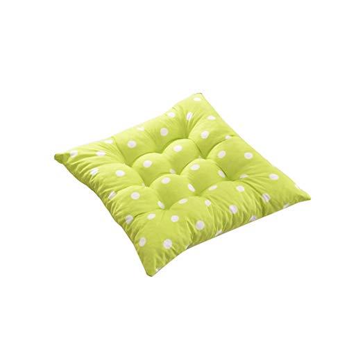 REDAPP 2019 Nuovo Cuscino di Seduta Imbottito, Cuscino di Riempimento Quadrato Resistente all'Usura Punto Cuscino Cuscino del Divano Decorazione Ambiente Caldo Tappeto Caldo Verde