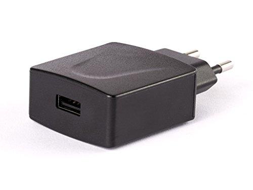 ENERPOWER EP 10W-B connecteur batterie adaptateur chargeur (5V) noir avec sortie USB