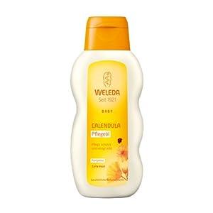 Weleda Baby Calendula Pflegeöl Parfümfrei, 200 ml