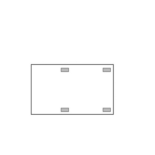 3M steridrape mm10133m steri-drape X-Ray cassette165X 106cm (10Stück) (3m Steri Drape)