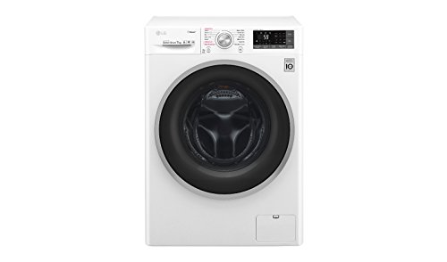 LG F2J7HY1W Lavatrice (Carico frontale 7kg 1200RPM A+++, 150°), Bianco