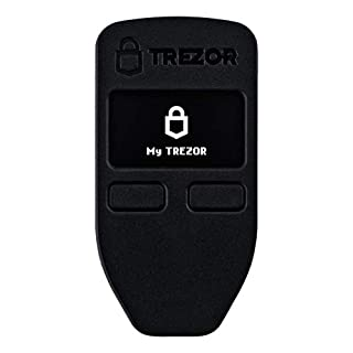 Trezor Hardware Bitcoin Ethereum Wallet – Black