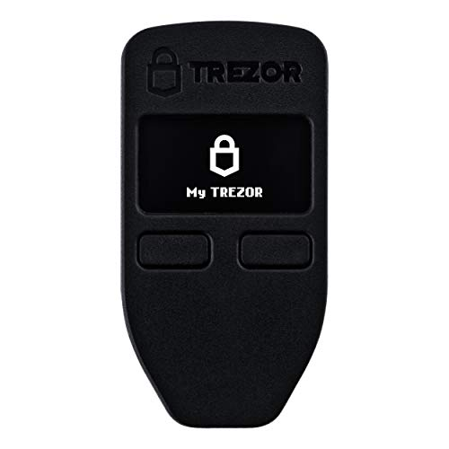 Trezor One - Crypto Currency Hardware Wallet - Black