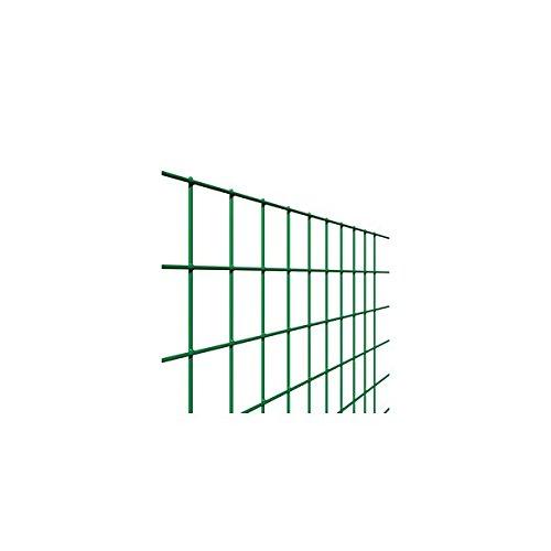 Rouleau de grillage en acier soudé et galvanisé, maillage 50 x 75 mm pour clôture, 25 m de long et 175 cm de haut