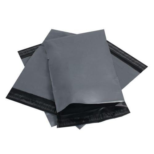 """Große Aufkleber mit grau-Taschen, verfügbar in verschiedenen Größen & Mengen Poly Postal mit Kunststoff-Versandtaschen 20""""x26"""" - 25 Bags grau"""