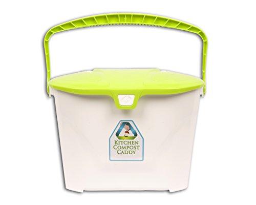 Küche Kompost Caddy belüftet Kompost Eimer (Tasche Mülleimer Caddy)
