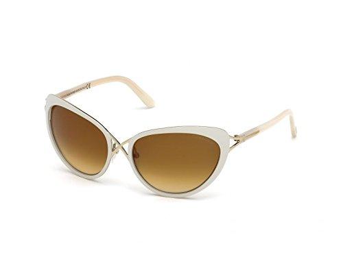 Tom Ford Sonnenbrille Daria (59 mm) grau