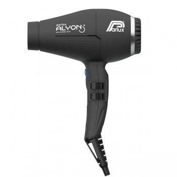 Parlux alyon light air ionizer hairdryer - black