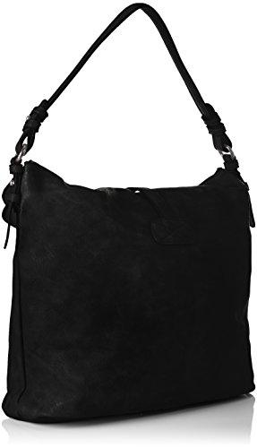 Tamaris - Bernadette Hobo Bag, Borse a spalla Donna Nero (Black)