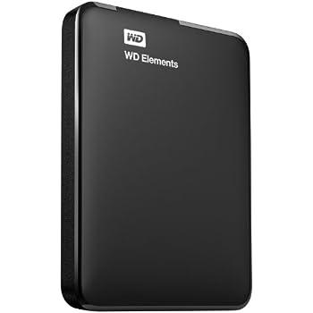 WD Elements 2TB USB 3.0 Portable External Hard Drive (Black)