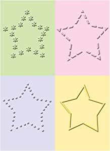 Classeur gaufrage Cuttlebug étoiles 4 classeurs