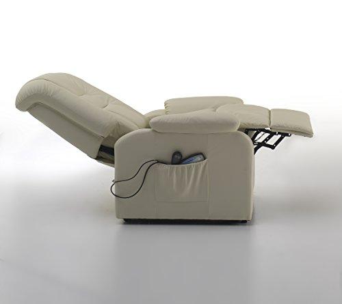 Poltrone Per Anziani Massaggianti.Poltrona Elettrica Relax Massaggiante Con 8 Rulli Per Massaggio E
