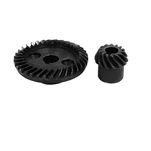 sourcing map Kegelradsatz Kegelrad Spiralsystem Reparatur Werkzeug 90 Grad Wellenwinkel (Kegelradgetriebe-schleifer)