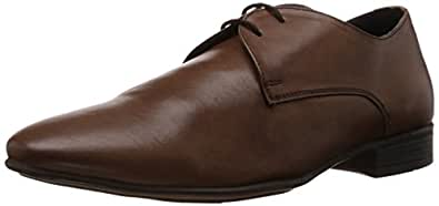 Alberto Torresi Men's Tan Leather Formal Shoes - 11 UK