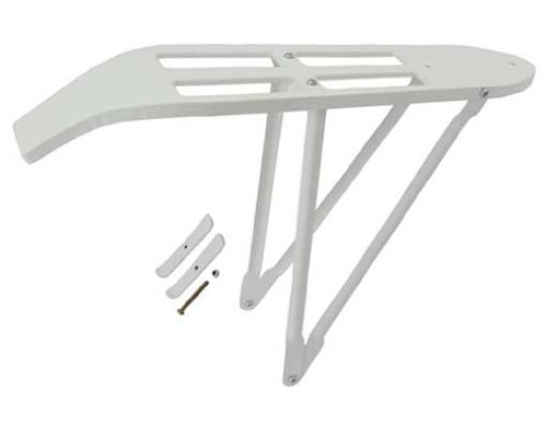 26 Beach Cruisers Carrier White. bicycle part, bike part, beach criuser bike carrier, bike rack beach cruiser, stretch, limo by Lowrider