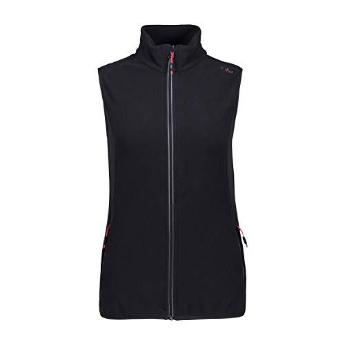 te Woman Fleece Vest 3G14216 Antracite-Grey 40 ()