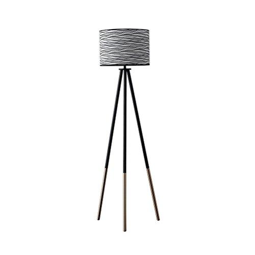 SAN QIAN WAN- E27 Stativ Eisen Beleuchtung Für Familienzimmer Umgebungslicht Kreative Hohe Stehende Vermessung Stehlampe 157x45 cm Stehlampe (Eisen-stativ)