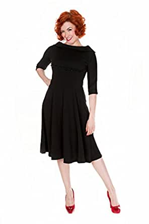 Lindy Bop Women's Dress 26 Black