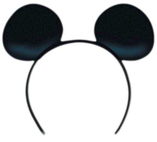 Jahre Kinder Siebziger Für Kostüme (Zauberclown - Kinder Erwachsene Mickey Mouse Ohren Haarband, Accessoires,)