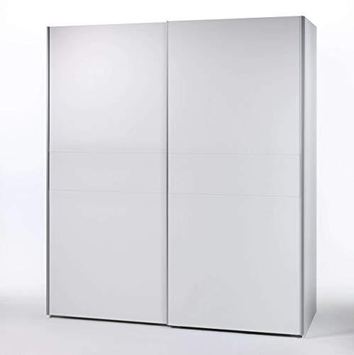 Avanti trendstore - victoria - armadio con ante scorrevoli in legno laminato, molto spazioso, disponibile in diversi colori. dimensioni: lap 170x196x60 cm (bianco)