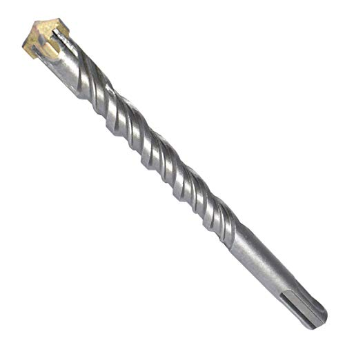 SDS Plus Bohrer 32mm Ø - Länge 32x600 mm (Ideal zum Bohren in Beton/Naturstein/Mauerwerk, 4 Hartmetall Spitzen,für Armierungseisen geeignet)
