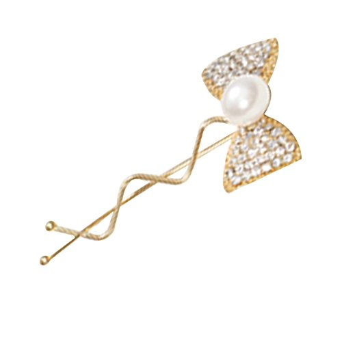 3Pcs Fashion Lady Diamond Tie Hairpin Coiffe