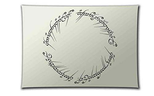 PixieBitz ST-FL-LOTR-1 - Der Herr der Ringe - Der eine Ring Schablone - A4 Airbrush, Schwämme, Aerosol, Pastellfarben, Schnee