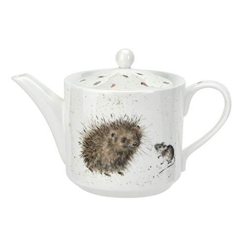 Royal Worcester Wrendale Designs China Teekanne mit Igel und Maus Design-teekanne