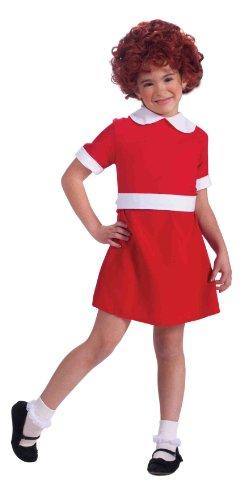 Forum Neuheiten Annie Kinderkost-m Small - 4-6 (Kinder Annie Kostüm)