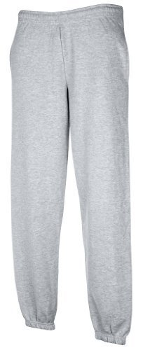JOGGINGHOSE ELAST BUND FRUIT OF THE LOOM S M L XL XXL XXL,Hellgrau - Of Von Fruit Herren-unterhosen Loom The