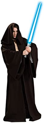 Rubies Costumes–Disfraz de Star Wars Super Deluxe Jedi Robe adultos