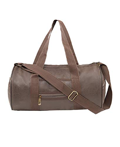 Akbagh AK Men's and Women's PU Leather 23 L Brown...