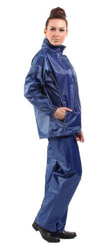 Pro Climate Ensemble veste et pantalon imperméables et légers avec panneaux réfléchissants 360g Bleu Marine