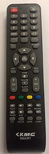 جهاز تحكم عن بعد لتلفزيون كي ام سي الذكي.