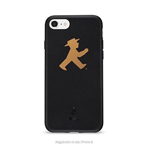 Artwizz TPU Case (Ampelmann Edition) Schutz-Hülle Cover Etui aus elastischem Kunststoff für iPhone 7 & iPhone 8 schwarz - Elastischen Kunststoff
