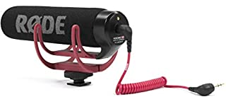 Rode VideoMic Go Microfono Direzionale per Fotocamere DSLR e Videocamere, 100Hz - 16kHz, Jack 3,5 mm, Nero/Antracite (B00GQDORA4) | Amazon price tracker / tracking, Amazon price history charts, Amazon price watches, Amazon price drop alerts