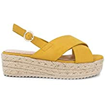 5ca2ce79059 Amazon.es: sandalias mujer - Amarillo