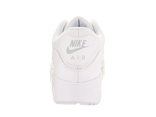 Nike Herren Air Max 90 Ultra 2.0 Essential Turnschuhe Weiß (bianco / Bianco / Bianco / Platino Puro)