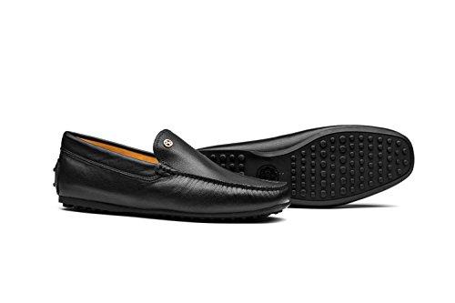 Chaussures Bateau Moccassins Homme Loafers Nouvelle Collection Noir
