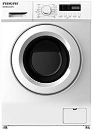 Nikai 6Kg Fully Automatic Front Loading Washing Machine, White - NWM600FN7, 1 Year Warranty