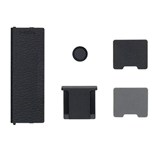 Fujifilm 16588901Kit de Accesorios Negro 3Tapas: Zapata de Flash–Synchro X–Conector Mango