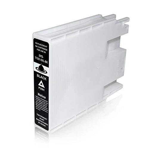 T7551 Cartuccia Compatibile Nero Per Epson WorkForce Pro WF-8010 WF-8090 WF-8510 WF-8590