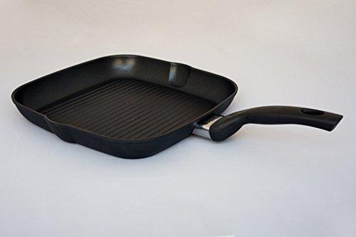 Fissler classic Grillpfanne, 28 cm, eckig, ohne Deckel, antihaftbeschichtet